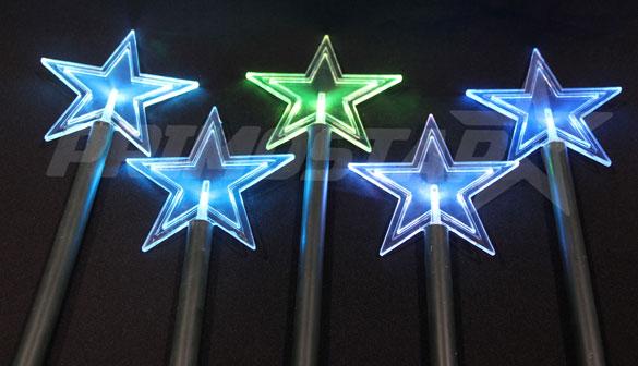 ozodby led 5 gwiazdy ogrodowe