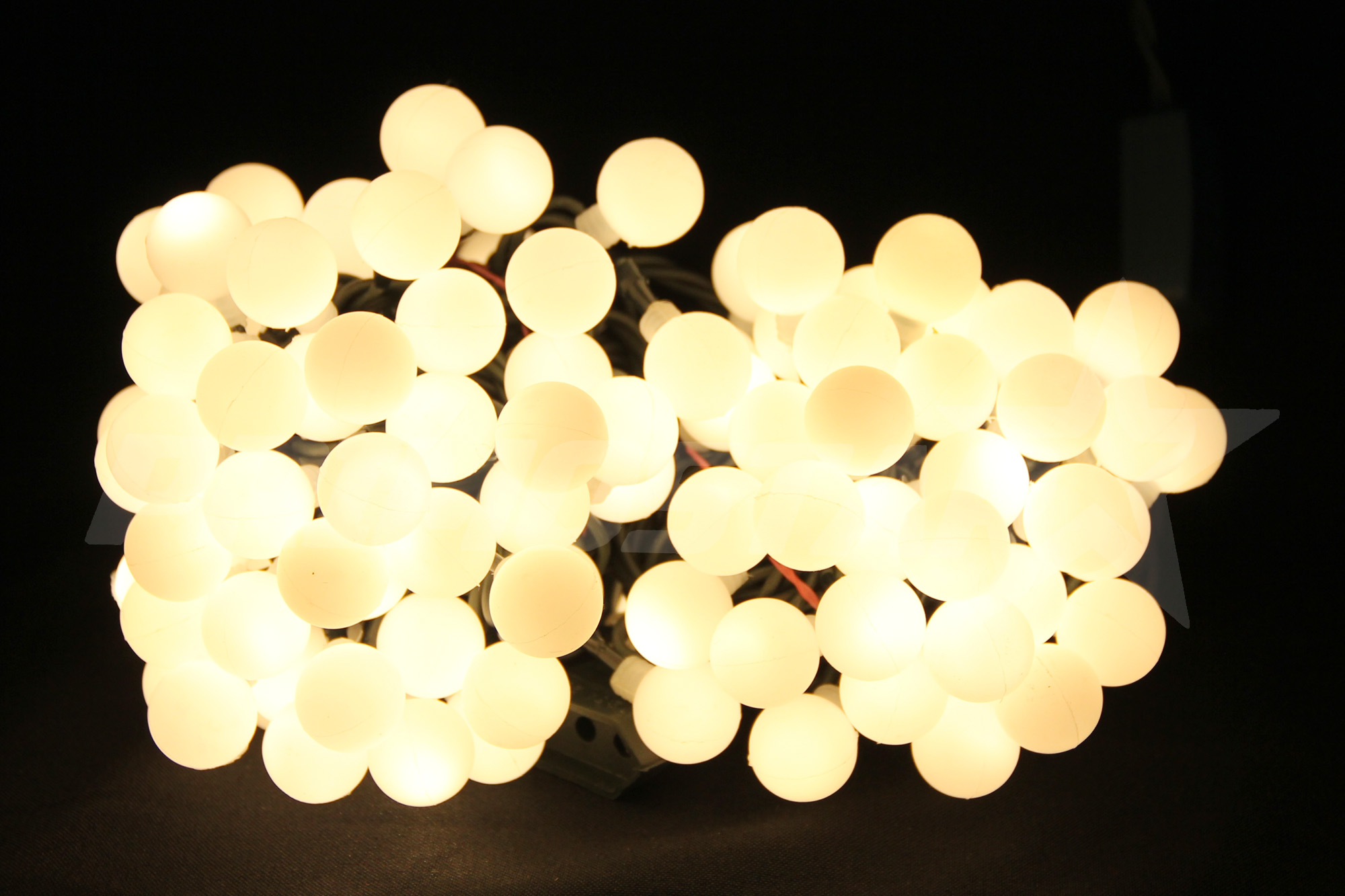 lampki led 80 kulki ciepla biel