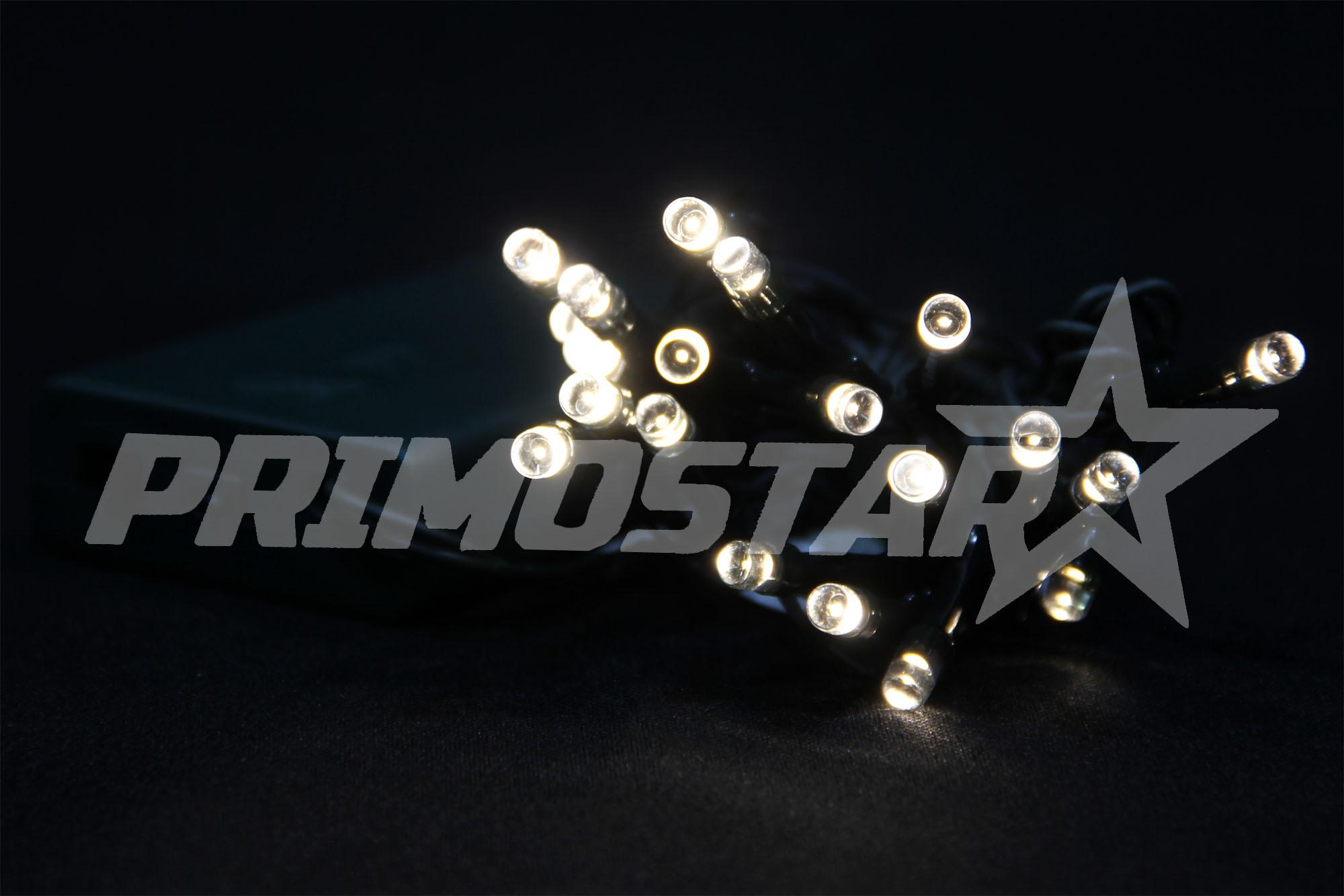 lampki led 20 na baterie 230v ciepla biel