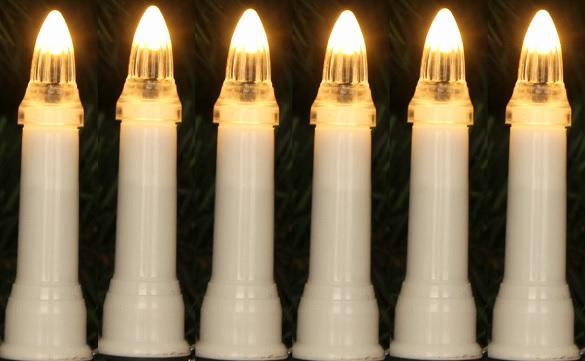 lampki led 30 swieczki tradycyjne ciepla biel z blyskiem