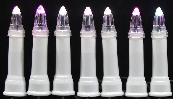 zewnetrzne lampki led 30 swieczki tradycyjne kolor rgb