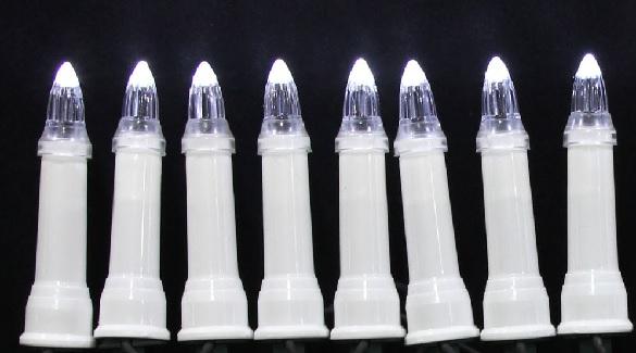zewnetrzne led swieczki tradycyjne barwa zimna biel