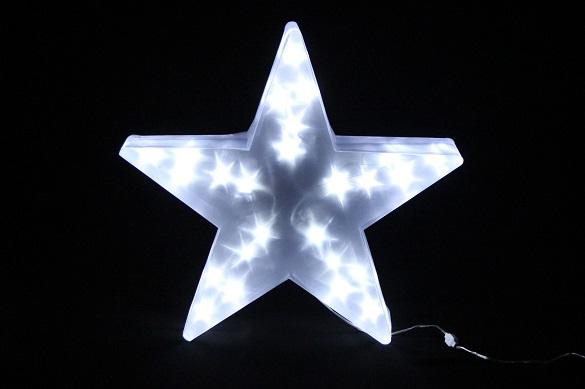 gwiazda 25 led 3d duza 45 cm